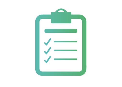 Curing Light Checklist